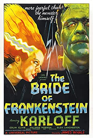 The Bride of Frankenstein poster