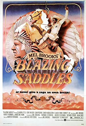 Blazing Saddles poster