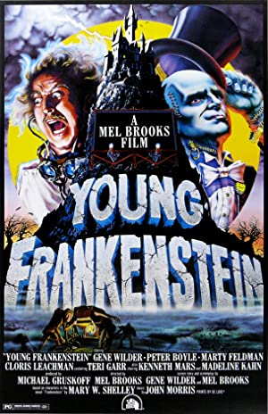 Young Frankenstein poster