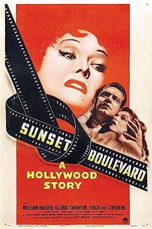 Sunset Blvd. poster